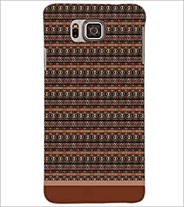 PrintDhaba Pattern D-1714 Back Case Cover for SAMSUNG GALAXY ALPHA (Multi-Coloured)