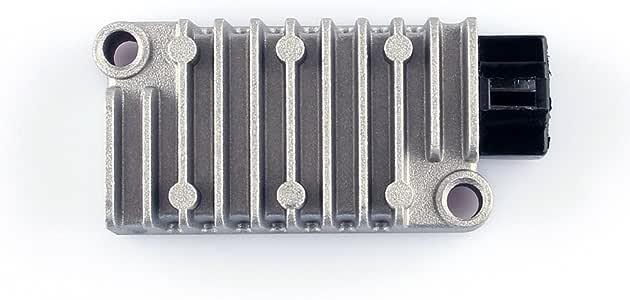 KIMISS Raddrizzatore regolatore di Tensione per Moto in Alluminio per XV250 FZR500 XT60 FZX250