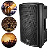 Neewer Altoparlante Cabinet Portatile Amplificatore Audio Stereo per Sala Conferenze, Auditorium, Sala Concerti o Performance in Tour (41x63x33cm)