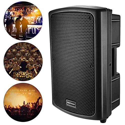 Neewer Sonido Altavoz Gabinete Portátil Audio Estéreo Amp Sub para Sala de...