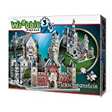 Wrebbit 3D W3D-2005 - Neuschwanstein Castle Puzzle