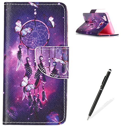 Huawei-P9-Lite-Case-MAGQI-Elegant-Luxury-Flip-Slim-Fit-Wallet-Cover-Premium-PU-Leather-Card-Slots-Money-Pouch-Protective-Magnetic-Closure-Book-Style-Shell-With-Free-Black-Stylus-Stand-Funcation-Magnet
