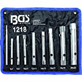 BGS 1218 Jeu de 8 clés en tube, 6x 7 à 20x 22mm