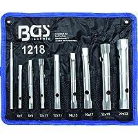 Bgs Technic Pro+ - Set Di 8 Chiavi A Tubo Esagonali, Da 6 X 7 Mm A 20 X 22 Mm
