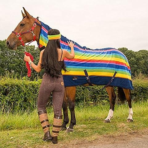 Cavallo Coperta da cavallo in pile, traspirante, tutte le misure e colori