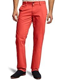 SELECTED HOMME Herren Hose Normaler Bund 16028436 Three Paris choko brown chino pants