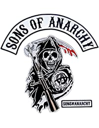 Texte et Arcade Sons of Anarchy Reaper Logo Patch Set