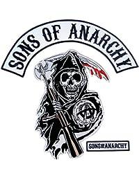 Sons of Anarchy Ensemble de exte et Arcade Reaper Logo Patch