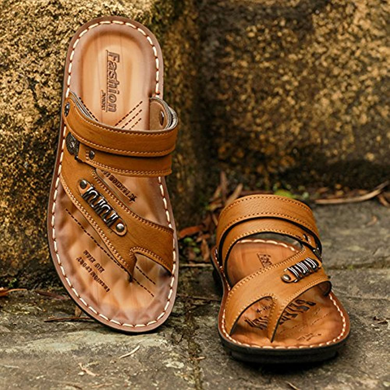 Xing Lin Herren Sandalen Leder Ist Sommer Herren Sandalen Trend Strand Schuhe Herren Sandalen Trend Casual Hausschuhe