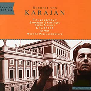 """Tchaikovsky : Symphonie """"Pathétique"""" ; """"Roméo et Juliette"""" / Chabrier : """"Espana"""""""