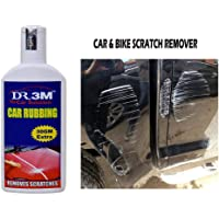 DR3M Car & Bike Scratch Remover, Advanced Formula Rubbing Compound,use All Colours (Not for Dent & Deep Scratches)- 100gms+30gm Extra.