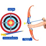 Sajani Bow and Arrow Archery Toy Target Game Set for Kids