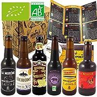 Cet assortiment vous fait découvrir les meilleures bières artisanales BIO, accompagnées de leur guide de dégustation présentant chaque bière et le monde de la bière. La sélection propose un choix parfait pour une dégustation complète. Nous proposons ...