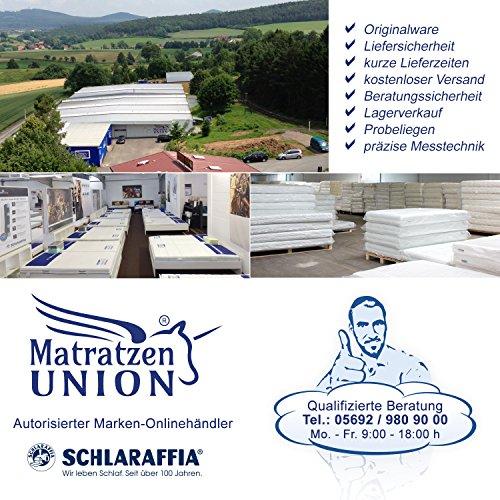 Schlaraffia Viva Plus Aqua Taschenfederkern Plus Matratze 90×200 H3 - 4