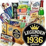 Legenden 1936 / 83. Geburtstag, 84. Geburtstag / DDR Spezialitäten Ostpaket