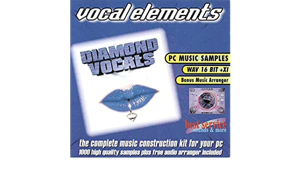 Vocal Elements Sample CD: Amazon co uk: Software