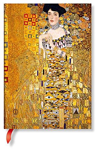 Paperblanks Faszinierende Handschriften Gustav Klimts 100. Todestag Porträt von Adele Notizbuch Midi Unliniert Sonderausgabe (Special Edition)