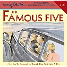 Five Go To Smugglers Top & Five Get Into A Fix (Famous Five, Band 1)