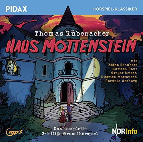 Pidax Hörspiel-Klassiker - Haus Mottenstein (Thomas Rübenacker) NDR / Polygram klassik / DG Junior 1993 / pidax 2017