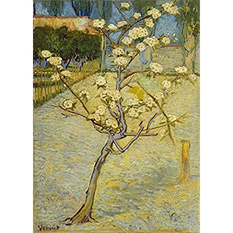 VINCENT VAN GOGH peral en flor de tamaño pequeño c1888 * 250gsm brillante cuadro decorativo A3 precisa