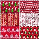 Weihnachten Stoff Fat Quarter Bundle FQ Cute Neuheit Muster