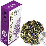 amapodo® Tisane 80g, Thé vert detox, infusion aux herbs, 100% naturel, sans lactose, sans gluten, végétalien