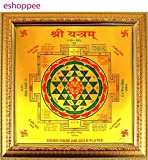 eshoppee Shree Yantra for Wealth Money Success and Achievement sri shri Yantra