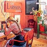 Calendrier publicitaire 2007 / 30x30mm / Carl Larsson at home / Affiches publicités / 204...