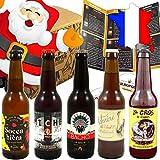 Pack Coffret Box 5 Bières artisanales de France - Les meilleures bières - cadeau