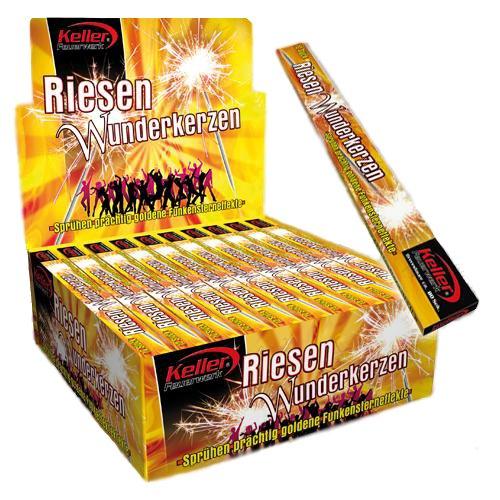 m Brenndauer 60 Sekunden - 10 Packungen a = 10 Stück (Silvester-party Pack)