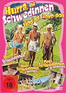 Hurra, die Schwedinnen sind da (3DVD-Box: Drei Schwedinnen in Oberbayern / Hurra, die Schwedinnen sind da / Drei Schwedinnen au