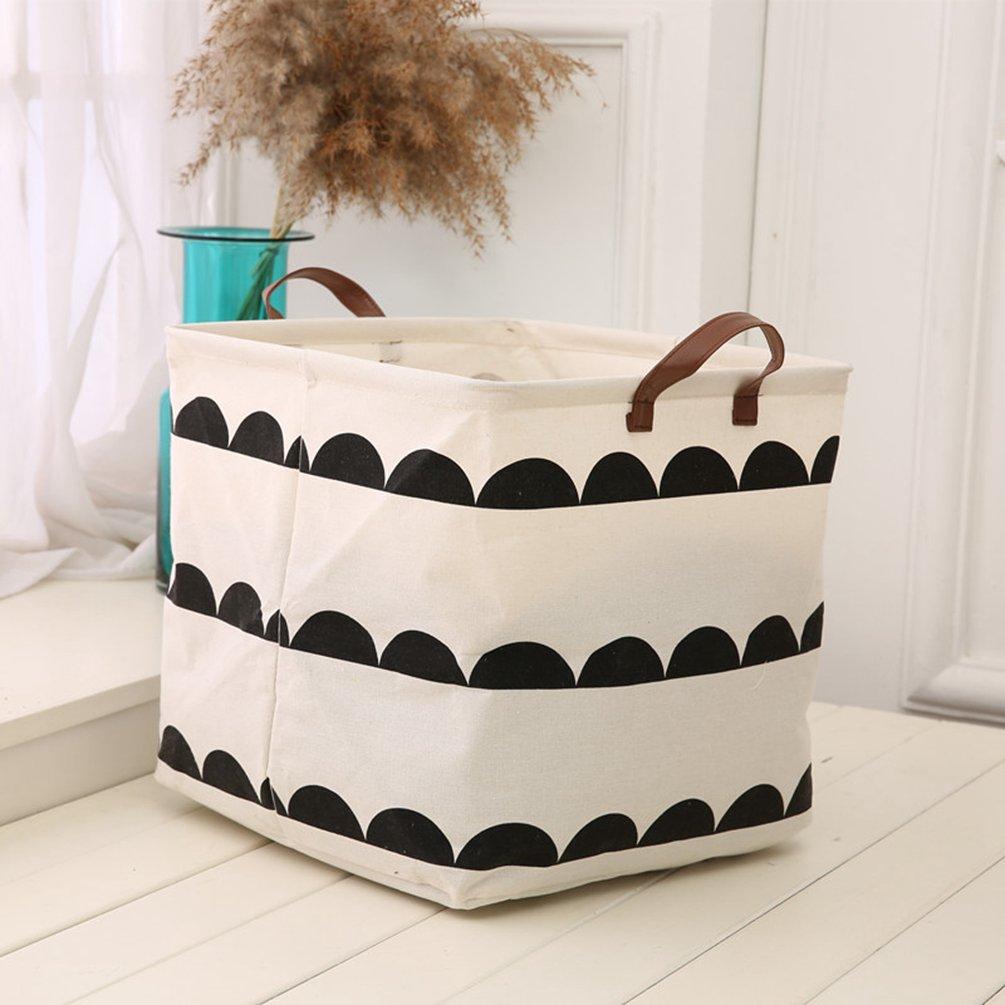 Dooxi Faltbare Kinder Aufbewahrungskörbe Wäschesammler Aufbewahrungskiste  Kinderzimmer Wäschekörbe Aufbewahrungsboxen Organizer Korb Spielzeugkiste:  ...