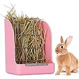 Yhuasia Comedero de Heno, Jaula para Heno para Conejos, Comedero Heno para Conejo, Alimentador de Heno, para Conejos, Conejil