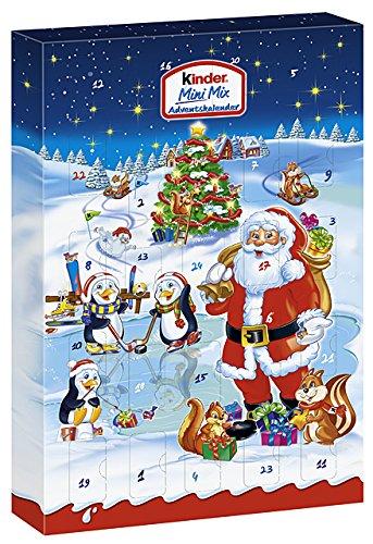 Ferrero Kinder Mini Mix Calendario dell'Avvento 152g (1pezzo)