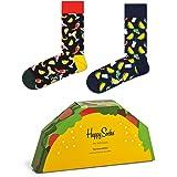 Happy Socks 2-Pack Taco Gift Set - algodón