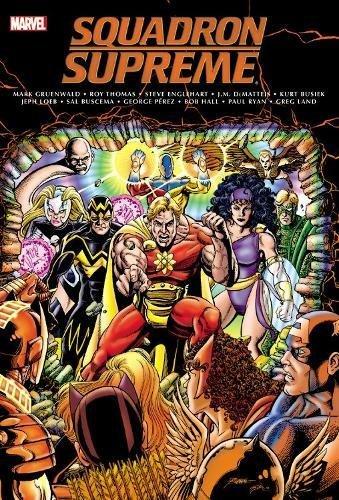 SQUADRON SUPREME CLASSIC OMNIBUS HC (Marvel Omnibus: Squadron Supreme)