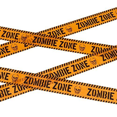 NEU Absperrband Zombie Zone, 6 m