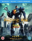 Pacific Rim Uprising (3D Blu-Ray and Blu-Ray Plus Digital Download) [2018] [Region Free]