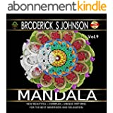 Mandala: New Beautiful - Complex - Unique Patterns For The Best Immersion and Relaxation (Adult Coloring Books - Art Therapy for The Mind Book 2) (English Edition)