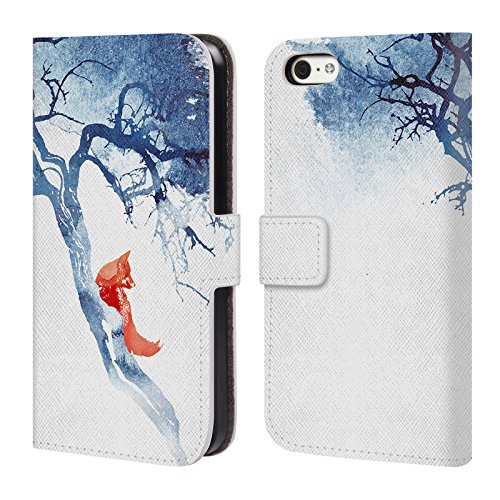 Ufficiale Robert Farkas Vulpes Volpe Cover a portafoglio in pelle per Apple iPhone 6 / 6s Non Si Torna Indietro