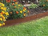 Rasenkanten Cortenstahl 170 cm x 15 cm - 6er Set