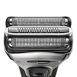 Braun Series 3 ProSkin 3090cc Electric Shaver, Rechargeable and Cordless Electric Razor for Men with Pop Up Precision Trimmer + Clean and Charge Station, Black/Silver