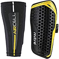 Mitre Aircell Pro Slip with Lock Sleeves Football Shin Pads