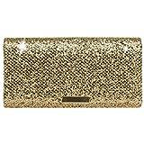 CASPAR TA342 Bolso de Mano Fiesta para Mujer/Clutch Elegante Brillo, Color:bronce,...