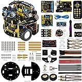 KEYESTUDIO pequeña Tortuga Robot para Arduino R3 Proyecto Smart Car Kit Cuatro Modelo Stem Education (Incluye un Libro de Usuario) for Arduino UNO