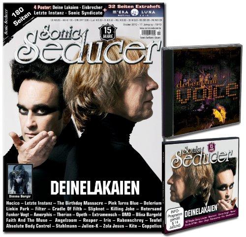 Sonic Seducer 10-10 Limited Edition mit exkl. Delerium-EP + Deine Lakaien-Sticker + M'Era Luna Beilage inkl. 4 Poster v. Eisbrecher, Deine Lakaien, Sonic Syndicate & Letzte Instanz + CD