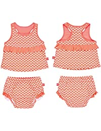 Lässig Splash & Fun 2 piece Tankini / Baby Badeanzug Set girls,