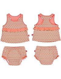 Lässig 1431004804 Baby Tankini Set, Sailor peach