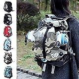 Schlittschuhtasche Skate Bag Tasche für Skateschuhe Schlittschuhe Rollschuhe Eislauf Bag Hülle 42 x 33 x 18 cm