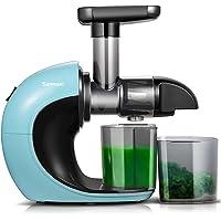 Extracteur de Jus de,Sunmaki Slow Juicer Presse à Froid Machine avec moteur silencieux et fonction d'inversion,Easy to…